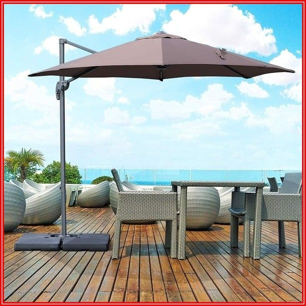 Cantilever Hanging Patio Umbrella