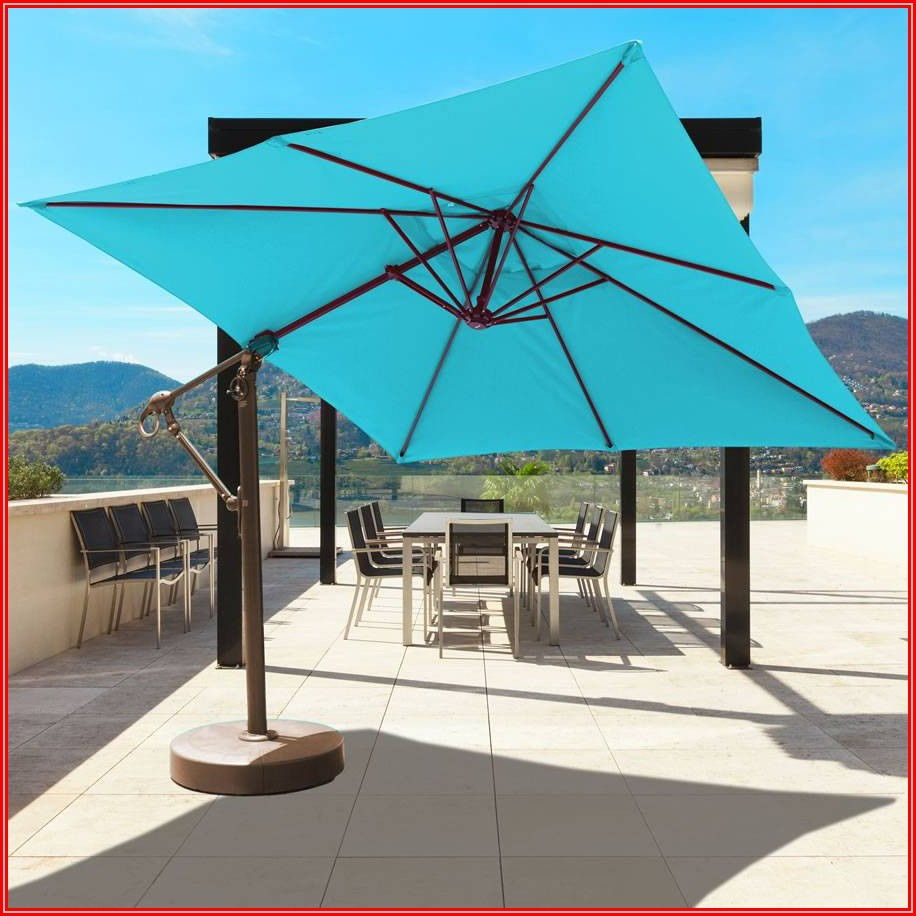 Cantilever Tilt Patio Umbrella