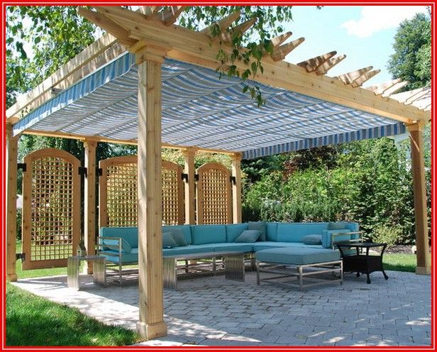 Canvas Canopy For Patio