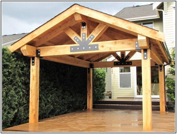 Cedar Patio Cover Plans