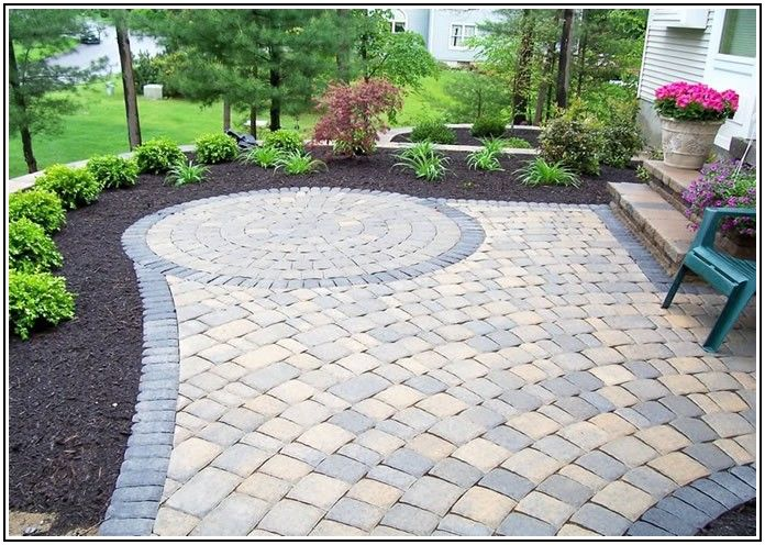 Cement Paver Patio Ideas