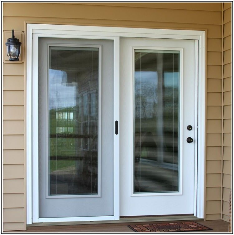 Center Hinged Exterior Patio Doors