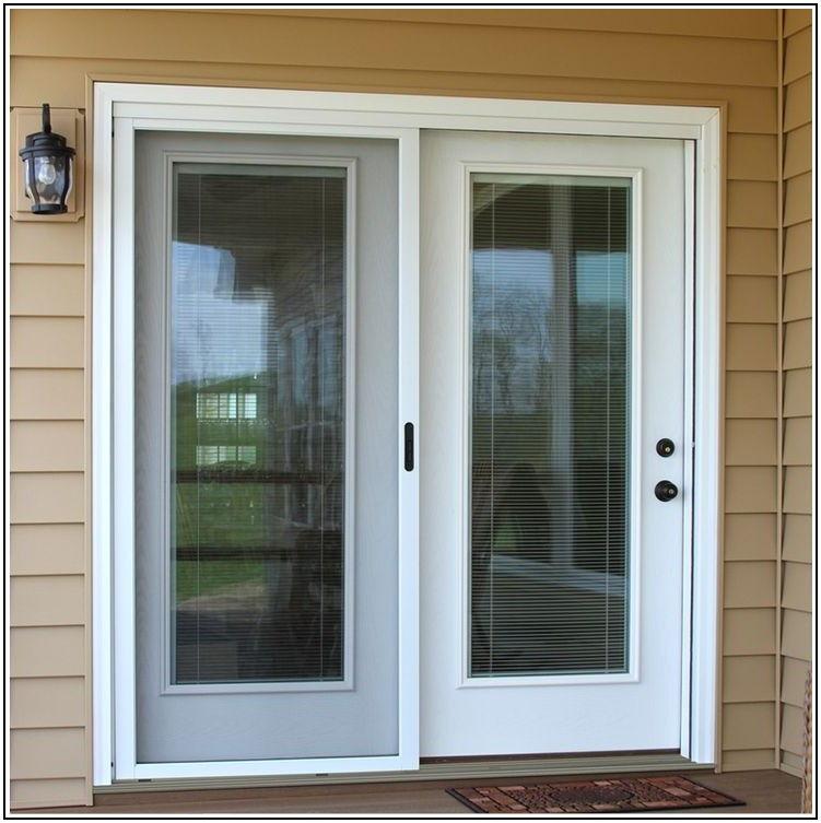 Center Open Sliding Patio Doors