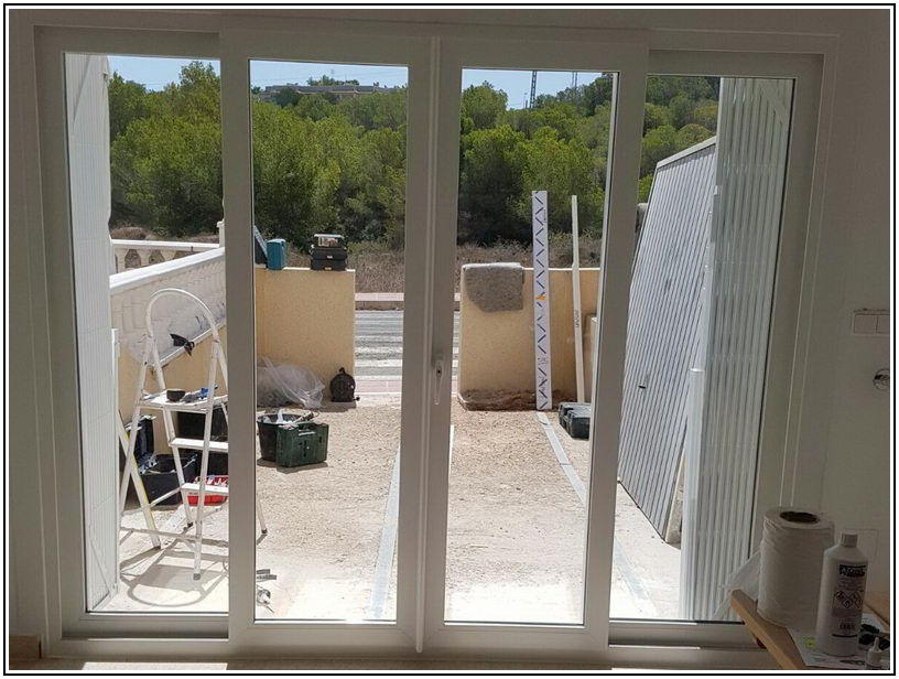 Center Opening Sliding Glass Patio Doors With Screen
