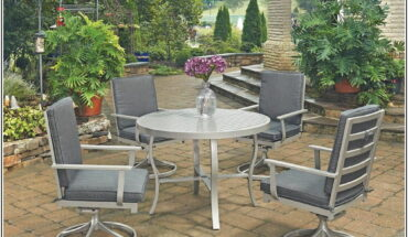 Chateau Outdoor Patio Furniture Dining Sets Pieces