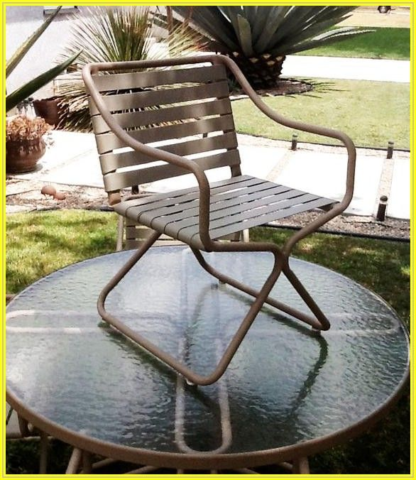 Vintage Brown Jordan Patio Chairs