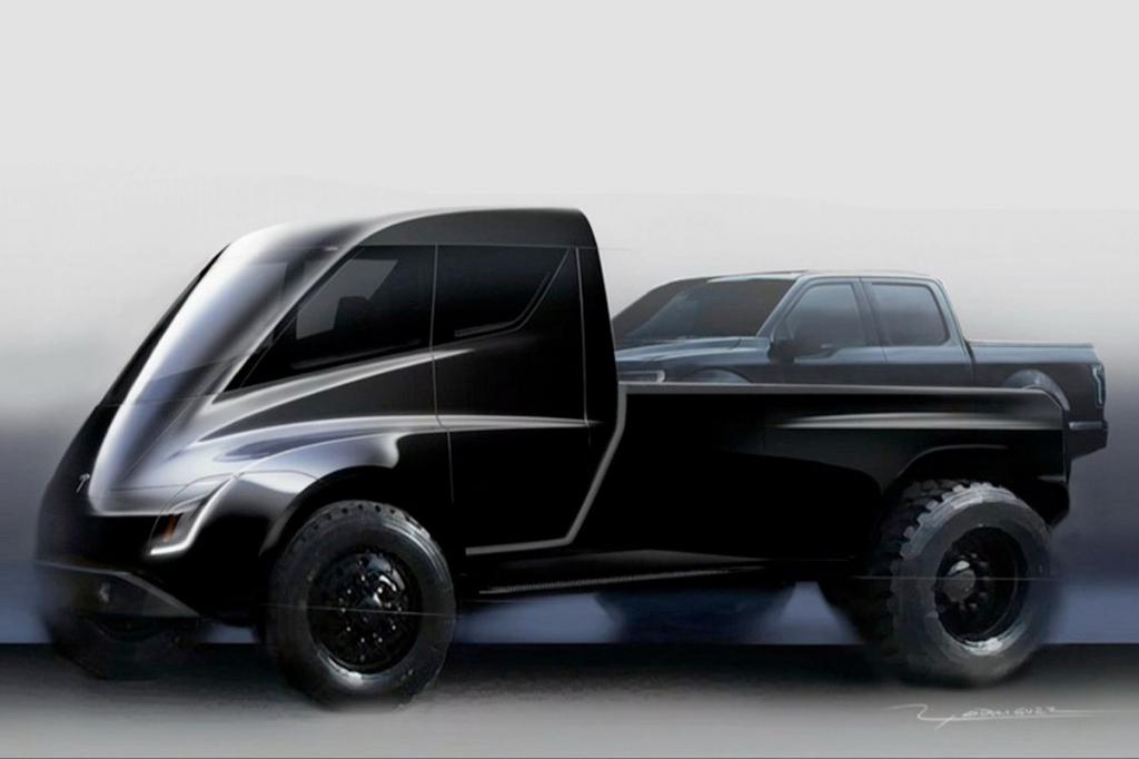 2021 Tesla Pickup Truck Engine
