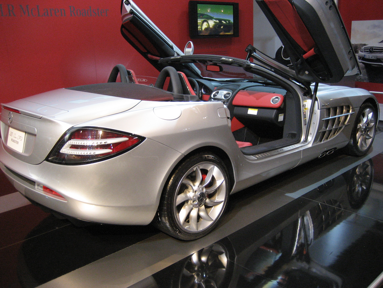 Mercedes_SLR_McLaren_2008 roadster