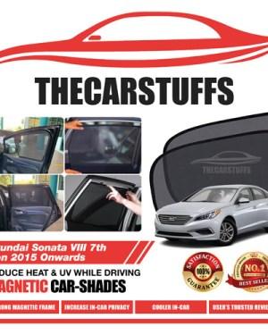 Hyundai Car Sunshade for Sonata VIII 7th Gen 2015 Onwards