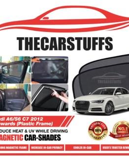 Audi Car Sunshade for A6/S6 C7 2012 Onwards (Plastic Frame)