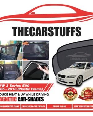 BMW Car Sunshade for 3 Series E90 2005 - 2013 (Plastic Frame)