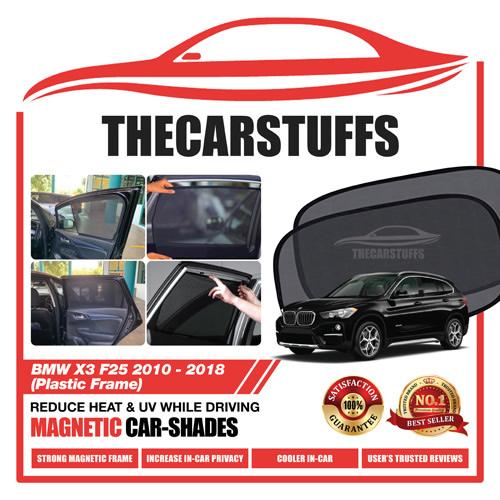 BMW Car Sunshade for X3 F25 2010 - 2018 (Plastic Frame)
