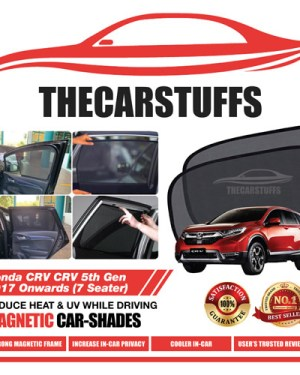 Honda Car Sunshade for CRV 5th Gen 2017 Onwards (7 Seater)