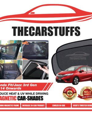 Honda Car Sunshade for Fit/Jazz 3rd Gen 2014 Onwards