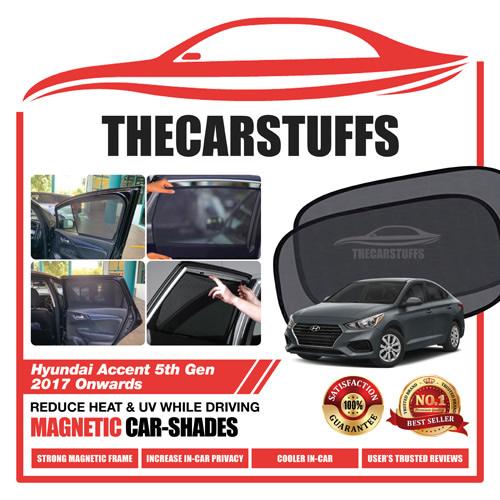 Hyundai Car Sunshade for Accent 5th Gen 2017 Onwards