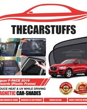 Jaguar Car Sunshade for F-PACE 2016 Onwards (Plastic Frame)