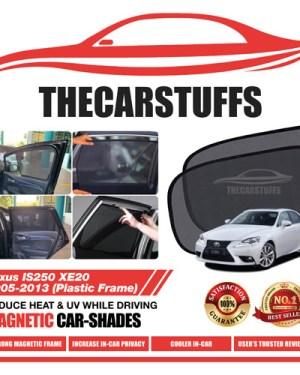 Lexus Car Sunshade for IS250 XE20 2005 - 2013 (Plastic Frame)