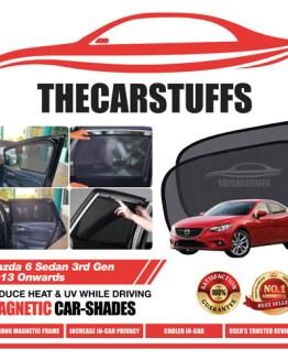 Mazda 6 Car Sunshade for Sedan 3rd Gen 2013 Onwards