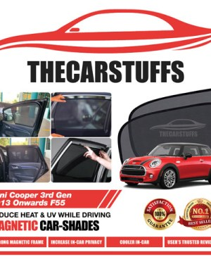 Mini Cooper Car Sunshade for 3rd Gen 2013 Onwards F55
