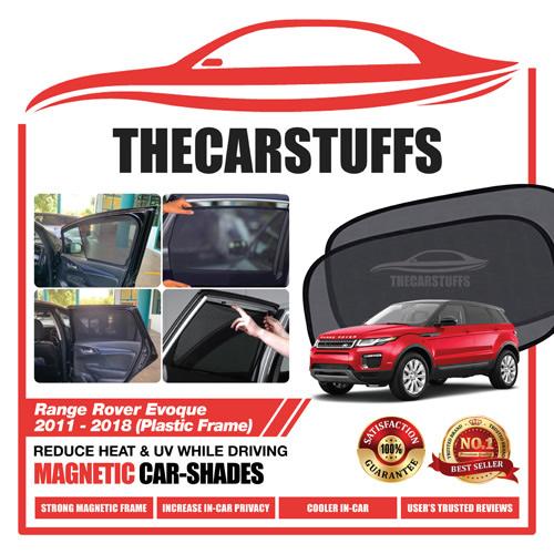 Range Rover Car Sunshade for Evoque 2011 - 2018 (Plastic Frame)