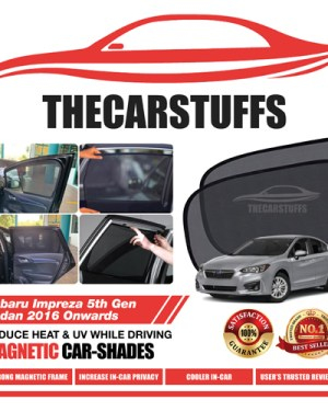 Subaru Car Sunshade for Impreza 5th Gen Sedan 2016 Onwards