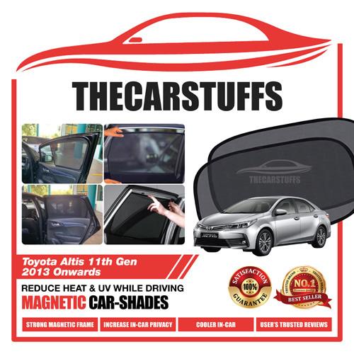 Toyota Car Sunshade for Altis 11th Gen 2013 Onwards