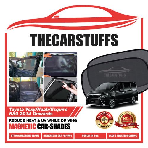 Toyota Car Sunshade for Voxy/Noah/Esquire R80 2014 Onwards