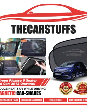 Citroen Car Sunshade for Picasso 5 Seater 2nd Gen 2013 Onwards