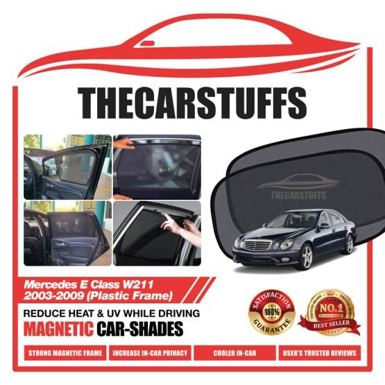 Mercedes Car Sunshade for E Class W211 2003 - 2009 (Plastic Frame)