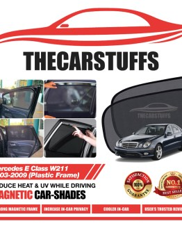 Mercedes Car Sunshade for E Class W211 2003 - 2009 (Plastic Frame)