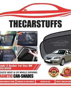 Mazda 3 Car Sunshade for Sedan 1st Gen BK 2003 - 2009