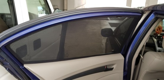 Mazda 2 Car Sunshade for Hatchback 4th Gen 2014 Onwards