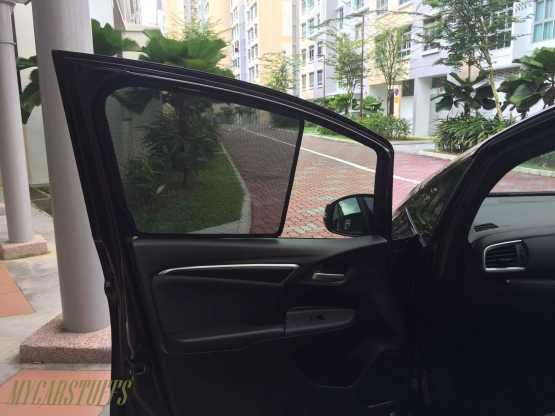 Mazda 2 Car Sunshade for Sedan 4th Gen 2014 Onwards
