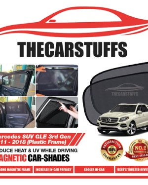 Mercedes Car Sunshade for GLE SUV 3rd Gen 2011 - 2018 (Plastic Frame)