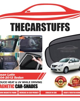 Nissan Car Sunshade for Sedan Latio 2004 - 2012