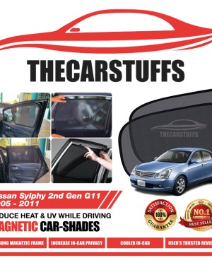 Nissan Car Sunshade for Sylphy 2nd Gen G11 2005 - 2011