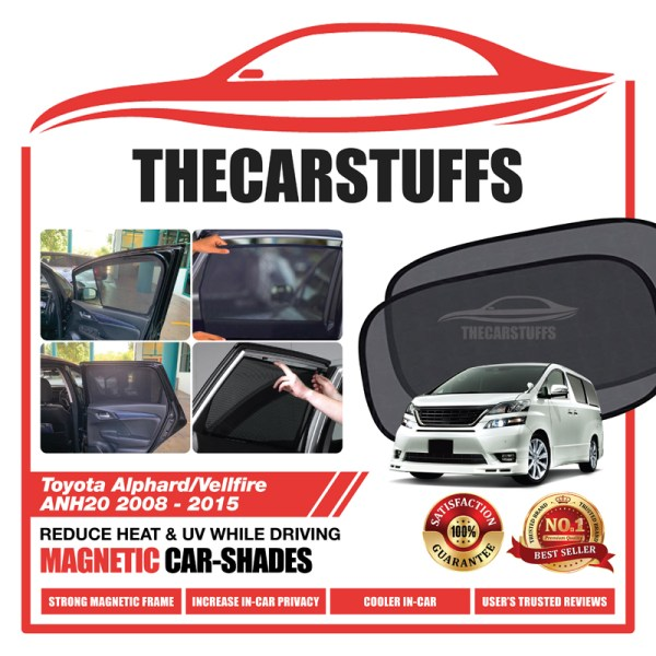 Toyota Car Sunshade for Alphard/Vellfire ANH20 2008 - 2015