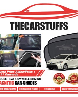 Toyota Car Sunshade for Prius Alpha/Prius 2011 Onwards