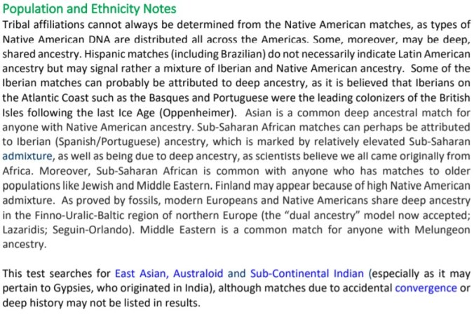 DNAC ETHNICITY NOTES BLURB