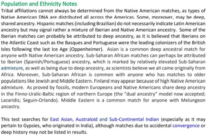 DNAC ETHNICITY NOTES BLURB