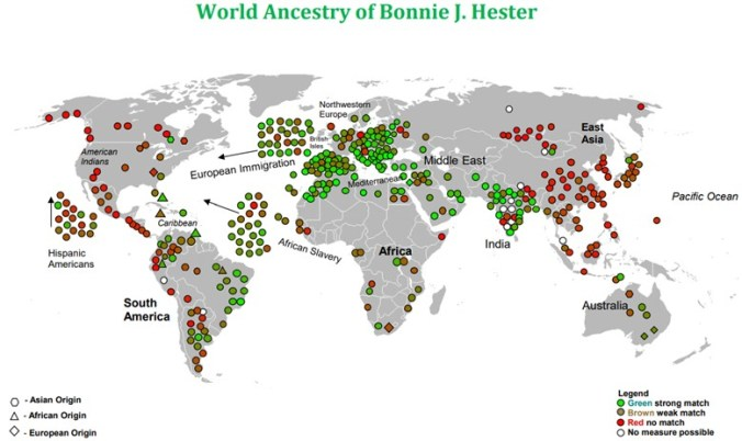 BONNIE HESTER WORLD MAP
