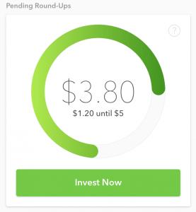 Acorns investing spare change