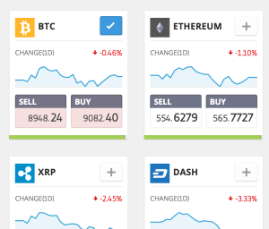 Cryptocurrency Trading eToro