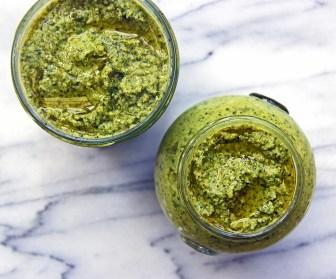 broccoli basil pesto vegan healthy dairy free gluten free 2