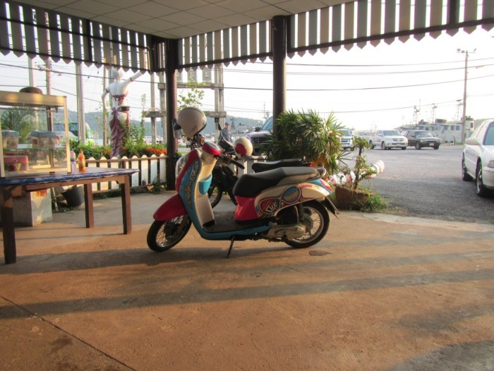Moped in Thialand