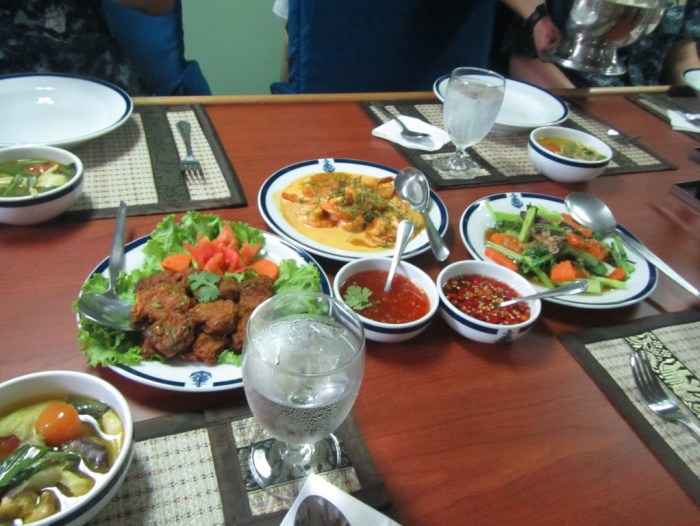 Lunch on a Thai Warship