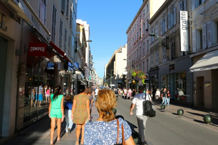 Strolling the Streets of Cannes France