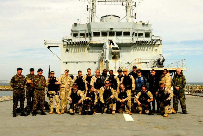 VBSS team & me (only one in blue)