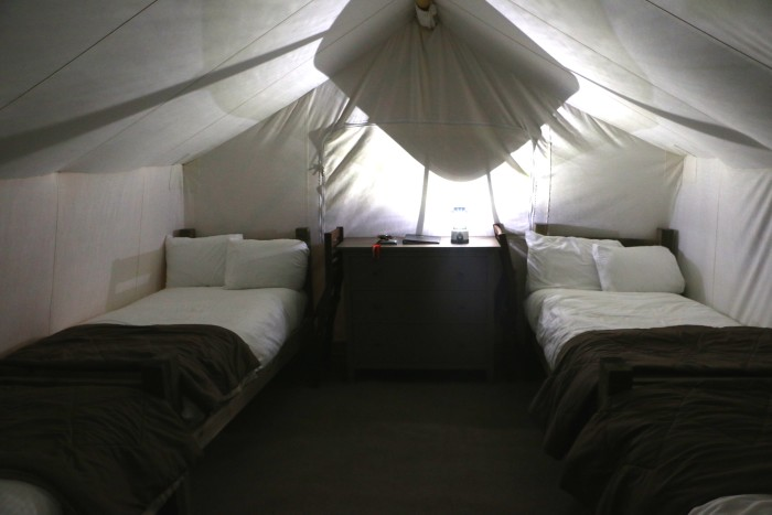 Glamping at Under Canvas in Montana 2