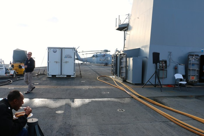 Steal Beach Picnic USS Mount Whitney 3